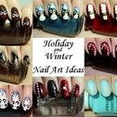 Holiday & Winter Nail Art