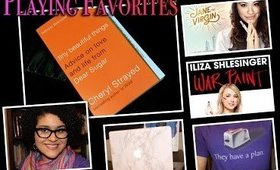 Playing Favorites! Comedies, Etsy Picks and Reading Material