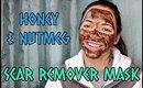 DIY Scar Remover Mask   Honey & Nutmeg