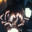 this is an easy hair style that I did