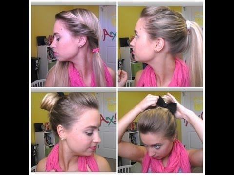 Magnificent Three Quick Easy And Cute Back To School Hair Styles Merci Short Hairstyles Gunalazisus