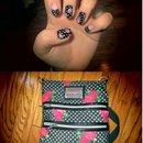 Betsey Johnson Purse Inspired Nails