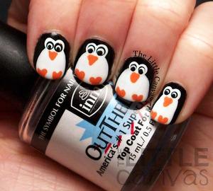 http://www.thelittlecanvas.com/2013/12/penguin-nail-art.html