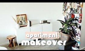 APARTMENT MAKEOVER! DIY ROOM MAKEOVER + INTERIOR DESIGN TIPS | Nastazsa