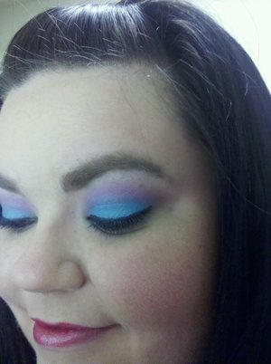 katy perry last friday night look with urban decay deluxe shadow palette