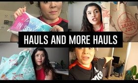 Hauls and more Hauls