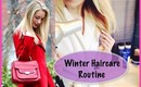 Winter Haircare Routine for Dry, Frizzy Hair