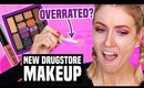 TESTING NEW DRUGSTORE MAKEUP... What Worked & What DIDN'T