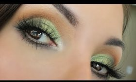Golden Olive Eyeshadow Tutorial
