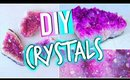 DIY Room Decorations: Tumblr Inspired Crystals!