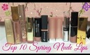 Top 10 Spring Nude Lips