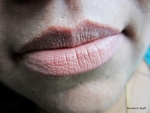 Revlon ColorBurst,Soft Nude 070 read my review http://www.srinjla.com/2013/09/lipstick-challenge-day23-revlon.html#.Ul2N4RaXulJ