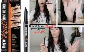 Benefit They're real push up liner review!!