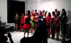 """Lady Zombie performs """"O Holy Night"""" (12.19.11)"""