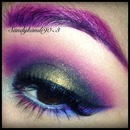 Purple multicolored eye<3