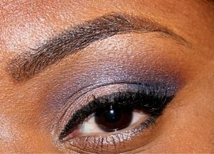 I Used MAC *Sea & Sky Eyeshadow Mineralizer in the outer Corner.