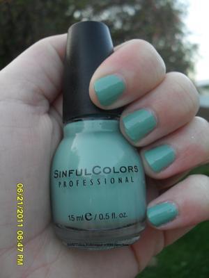 Sinful Colors- Open Seas