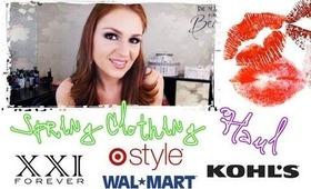 Spring Clothing Haul: Forever 21, Target, Kohls and Walmart