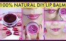 DIY Lip Balm For Pink Soft Lips At Home 100% Natural Homemade {Hindi} | SuperPrincessjo