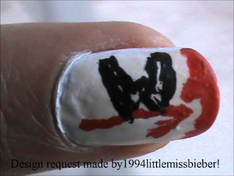 wwe nail design  easy nail designs for beginners short