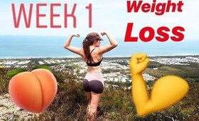 WEEK 1: Weight LOSS and Fitness Journey