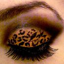 Cheetah Print smokey eye