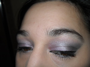 Arabic inspired purple and silver