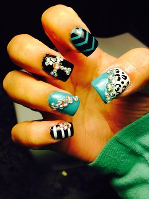 Got my nails done n they are amazing! Credit goes to my nail tech!