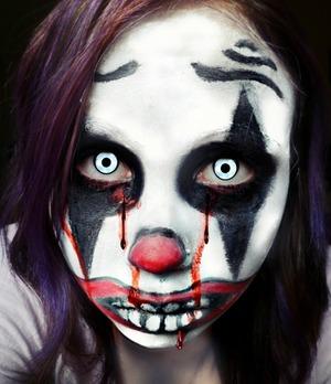 My killer clown look :)