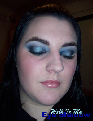 Cold and Icy Blues Look