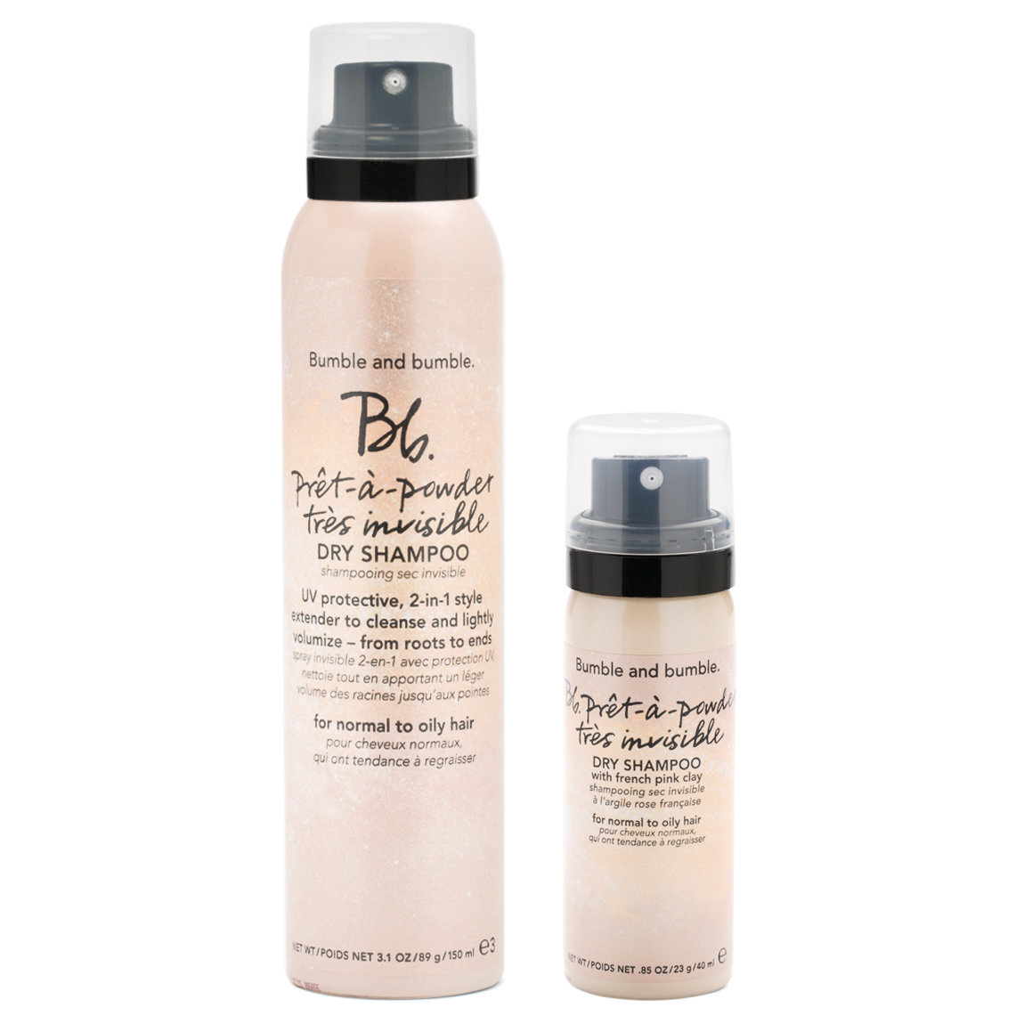Bumble and bumble. Prêt-à-powder Très Invisible Dry Shampoo Set