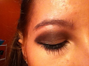 Naked palette, just playing around.