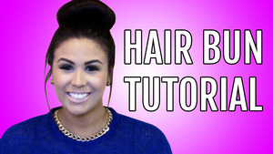 Subscribe to my channel to learn how to create 2 different buns!!
