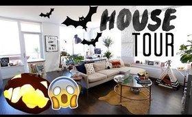 😱Insane Apartment Tour    | Karissa Pukas 👻 Halloween 2017 |