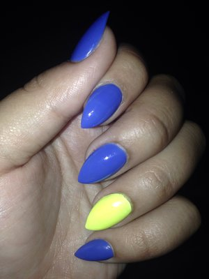Just got these babies done and I didn't even grab the color names from the salon... Ugh
