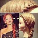 Rihanna Dutch Lace Braid