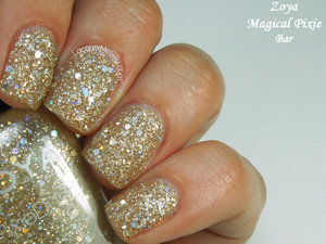 Bar ... textured glitter polish from the Zoya Magical Pixie Summer 2014 Collection. http://www.lacquermesilly.com/2014/06/27/zoya-magical-pixie-summer-2014/