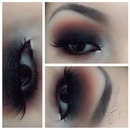 Orange Smokey Eye