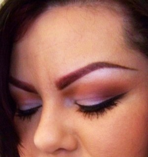 Bold Brows & Frosty Pink