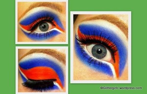 Orange and Blue :)