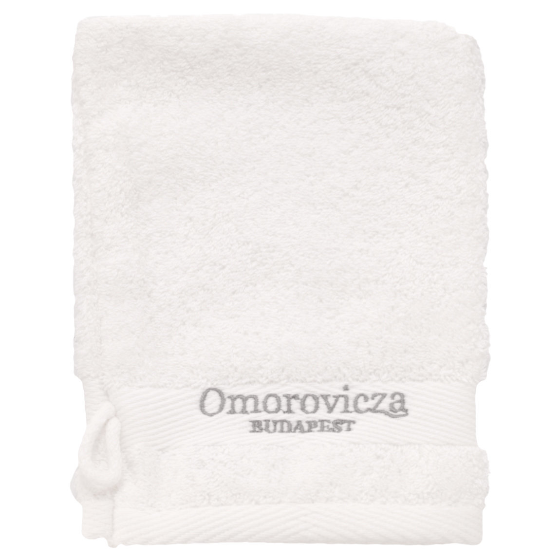 Omorovicza Cleansing Mitt product swatch.