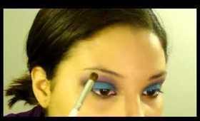 Tutorial: Smokey Blue and Purple