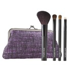 Sonia Kashuk Tweedle Dee 4-Piece Purse Brush Set (Fall 2011- Limited Edition)