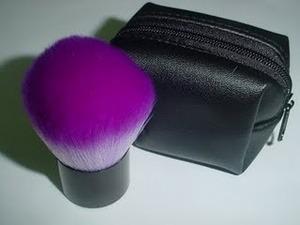 Purple Kabuki Brush