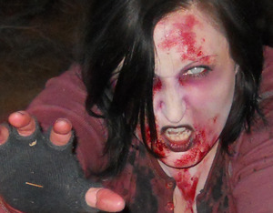 Me as a Zombie using my video's techniques
