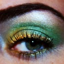 St. Patrick's Day Inspired makeup