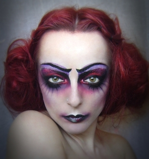 ''You walk through a series of arches, so to speak, and then, presently, at the end of a corridor, a door opens and you see backward through time, and you feel the flow of time, and realize you are only part of a great nameless procession.'' Inspired by Illamasqua - Theatre Of The Nameless