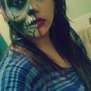 Half Skull, Half Beauty.