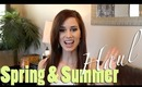 Spring and Summer HAUL!! - Brandy Melville, Forever 21, Thrifting etc.