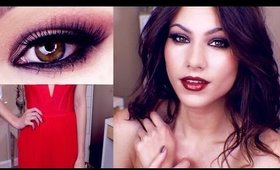 HOLIDAY Makeup, Hair, & Outfit Idea 2014! I Kayleigh Noelle